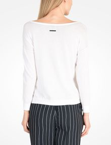 ARMANI EXCHANGE BOAT NECK SWEATER Pullover D r