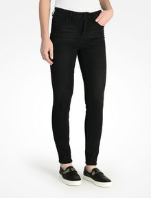 ARMANI EXCHANGE WASHED BLACK HIGH WAIST SUPER SKINNY JEANS Skinny jeans D d