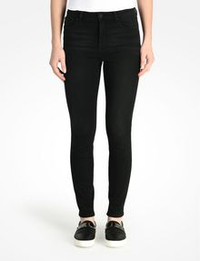 ARMANI EXCHANGE WASHED BLACK HIGH WAIST SUPER SKINNY JEANS Skinny jeans D f