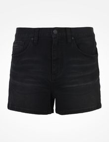 ARMANI EXCHANGE STUDDED BLACK HIGH RISE DENIM SHORTS Denim Short D b