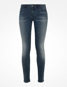 ARMANI EXCHANGE MEDIUM WASH SUPER SKINNY JEANS Skinny Fit Denim D b