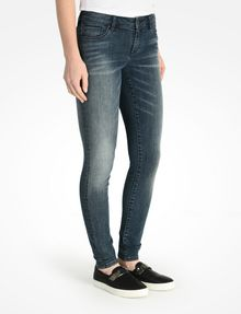 ARMANI EXCHANGE MEDIUM WASH SUPER SKINNY JEANS Skinny Fit Denim D d
