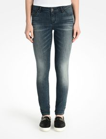 ARMANI EXCHANGE MEDIUM WASH SUPER SKINNY JEANS Skinny Fit Denim D f