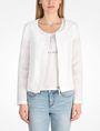 ARMANI EXCHANGE TEXTURED COLLARLESS JACKET Jacket D f