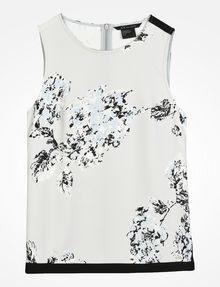 ARMANI EXCHANGE DAY TO NIGHT TANK S/L Woven Top Woman b