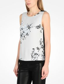 ARMANI EXCHANGE DAY TO NIGHT TANK S/L Woven Top Woman d