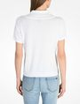 ARMANI EXCHANGE SHORT SLEEVE PERFORATED LOGO SWEATER Pullover Woman r