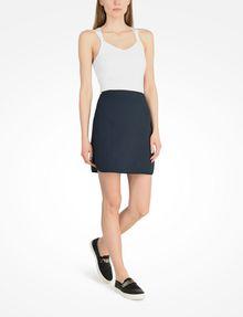 ARMANI EXCHANGE DIAMOND TEXTURED MINI SKIRT Skirt Woman a