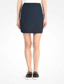 ARMANI EXCHANGE DIAMOND TEXTURED MINI SKIRT Skirt Woman f