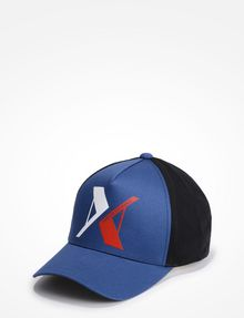 ARMANI EXCHANGE RUBBERIZED INVERTED LOGO HAT Hat Man f