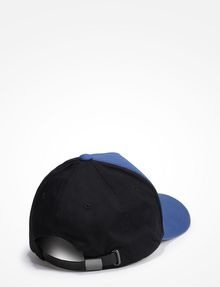 ARMANI EXCHANGE RUBBERIZED INVERTED LOGO HAT Hat Man r