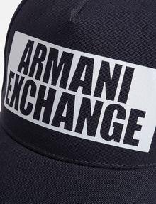 ARMANI EXCHANGE NEGATIVE SPACE LOGO HAT Hat U d