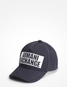 ARMANI EXCHANGE NEGATIVE SPACE LOGO HAT Hat U f