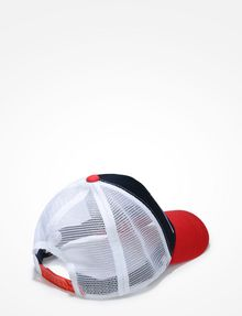 ARMANI EXCHANGE A|X ABSTRACT LOGO TRUCKER HAT Hat U r