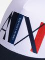 ARMANI EXCHANGE A|X ABSTRACT LOGO TRUCKER HAT Hat Man d