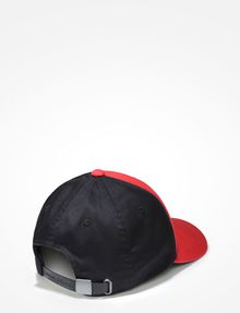 ARMANI EXCHANGE RUBBERIZED INVERTED LOGO CAP Hat U r
