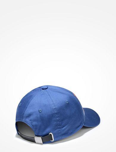 HIGH-SHINE PRINT LOGO HAT