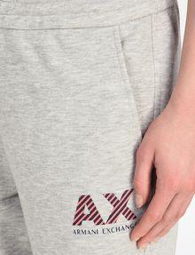 ARMANI EXCHANGE STRIPE LOGO JOGGERS Fleece Pant D e