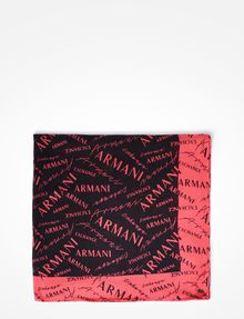 ARMANI EXCHANGE ALL OVER LOGO SCARF Scarf D d