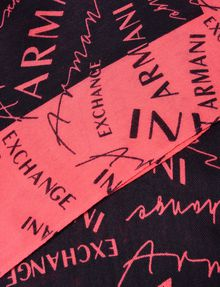 ARMANI EXCHANGE ALL OVER LOGO SCARF Scarf D e