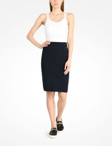 ARMANI EXCHANGE KNIT PENCIL SKIRT Skirt D a