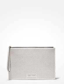 ARMANI EXCHANGE PERFORATED CLUTCH Bag D f