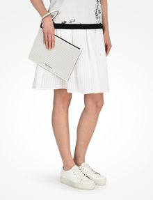 ARMANI EXCHANGE PERFORATED CLUTCH Bag D r