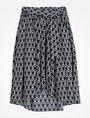 ARMANI EXCHANGE VINTAGE INSPIRED SCALLOP PRINT MIDI SKIRT Skirt D b