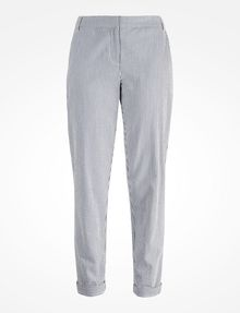 ARMANI EXCHANGE SEERSUCKER TROUSERS Pant Woman b