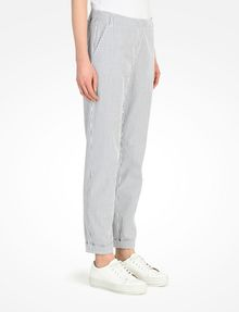 ARMANI EXCHANGE SEERSUCKER TROUSERS Pant Woman d