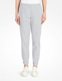 ARMANI EXCHANGE SEERSUCKER TROUSERS Pant Woman f