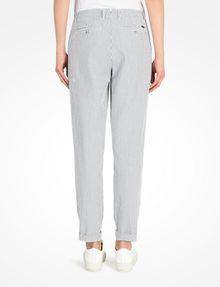 ARMANI EXCHANGE SEERSUCKER TROUSERS Pant Woman r