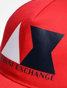 ARMANI EXCHANGE AX LOGO HAT Hat Man d