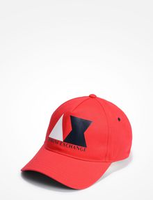 ARMANI EXCHANGE AX LOGO HAT Hat Man f