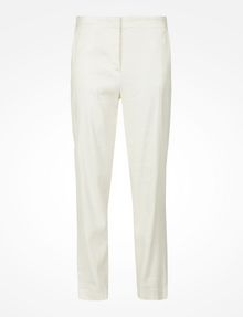 ARMANI EXCHANGE TAPERED LINEN TROUSERS Pant D b