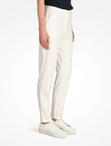 ARMANI EXCHANGE TAPERED LINEN TROUSERS Pant D d