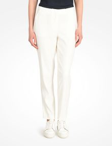 ARMANI EXCHANGE TAPERED LINEN TROUSERS Pant D f