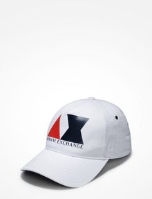 ARMANI EXCHANGE AX LOGO HAT Hat U f