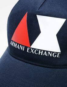 ARMANI EXCHANGE AX LOGO HAT Hat Man d