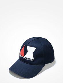 ARMANI EXCHANGE AX LOGO HAT Hat Man f