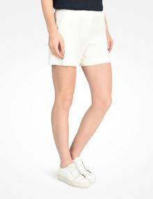 ARMANI EXCHANGE BUTTON FRONT LINEN SHORTS Shorts D d