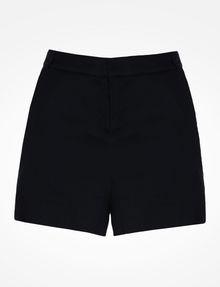 ARMANI EXCHANGE BUTTON FRONT LINEN SHORTS Shorts Woman b