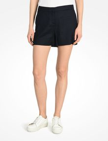 ARMANI EXCHANGE BUTTON FRONT LINEN SHORTS Shorts D f