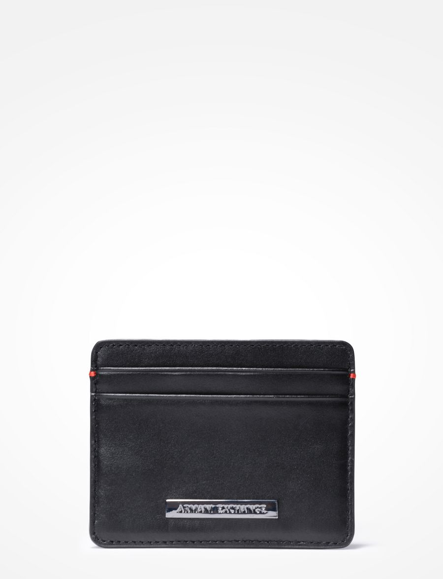 Armani Exchange Men\'s Wallets & Card Holders | A|X Store ‎ ‎