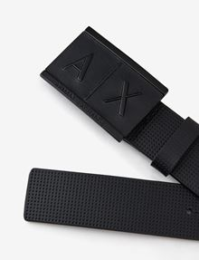 ARMANI EXCHANGE REVERSIBLE BICOLOR LOGO PLAQUE BELT Belt [*** pickupInStoreShippingNotGuaranteed_info ***] r