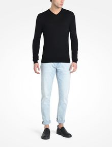 ARMANI EXCHANGE COTTON V-NECK SWEATER Pullover Man a