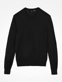 ARMANI EXCHANGE COTTON V-NECK SWEATER Pullover Man b