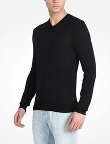 ARMANI EXCHANGE COTTON V-NECK SWEATER Pullover Man d