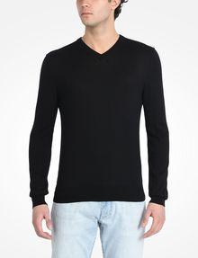 ARMANI EXCHANGE COTTON V-NECK SWEATER Pullover Man f