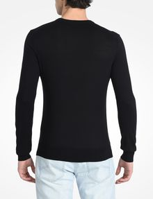ARMANI EXCHANGE COTTON V-NECK SWEATER Pullover Man r